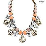 Women's European Style Wild Fashion Alloy/Resin Necklace With Rhinestone/Acrylic (More Colors)