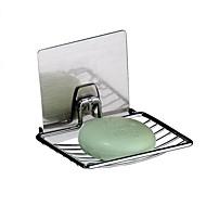 Suporte para Sabonete / Cromado / De Parede /13*9.2*10cm /Aço Inoxidável 211 /Contemporâneo /13cm 9.2cm 0.014