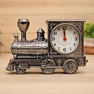 plasten lokomotiv vekkerklokke