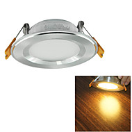 YouOKLight® 7W 600lm Warm White/White LED Ceiling  Lamp  (AC 100~240V)