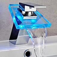 Současné LED/Vodopád Mosaz Pochromovaný