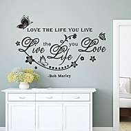 Words u0026 Quotes Wall Stickers Plane Wall Stickers Decorative Wall Stickers,Vinyl  Material Removable Home