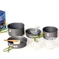 סגסוגת אלומיניום סט כלי מטבח אפור סטים