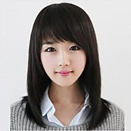 Black xuan straight hair wigs in changsha