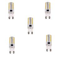 ywxlight 5w G9 привело кукурузы огни т 80 СМД 3014 450 лм теплый белый / холодный белый диммируемым 220-240 В переменного тока 5 шт