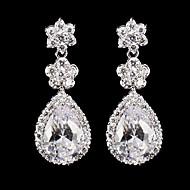 Drop Earrings Women's Cubic Zirconia/Alloy Earring