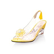 Women's Shoes Transparent  Slingback Wedge Heel  Sandals Shoes More Colors available