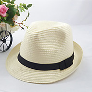 Women's Fashion Cute/Casual Straw Fedora Hat