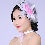 Graceful Fashion  Simulation Mesh Flower  Pearl  Bridal Headpiece
