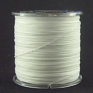300M / 330 Yards Żyłka polietylenowa pleciona / Dyneema Vlasce Biały 60 lb / 70 lb / 80 lb 0.37mm,0.40mm,0.45mm mm NaSea Fishing / Fly