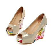 Women's Shoes Wedge Heel Peep Toe Pumps Dress More Colors Available