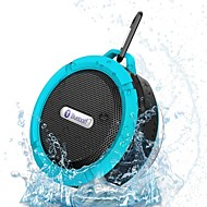 Braudel®  Portable Waterproof Bluetooth 3.0 Speaker  For Outdoor/Shower with Built-in Microphone & Suction Cup