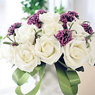 kimppu 30 PE simulointi ruusut häät kukkakimppu häät morsian holding kukkia