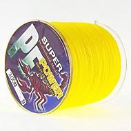 300M / 330 Yards Polyethylenový vlasec / Dyneema Balıkçılık Misinaları žlutá placka 28LB / 25LB / 20LB / 18LB / 10LB / 8LB