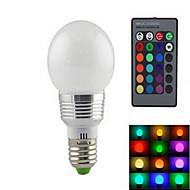 1 kpl dingyao E14 15.0 W Teho-LED 650-1000 LM Väriä vaihtava Himmennettävä Pallolamput AC 220-240 V