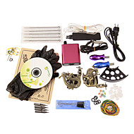 2 Tattoo Machine Gun Mini Power Supply Tattoo Kits