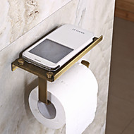 Multi-function Antique Brass Finish Brass Material Toilet Paper Holders