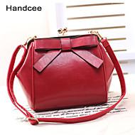 Handcee® Women Casual PU Crossbody Bag Big Bowknot Elegance Shoulder Bag