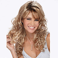 The New European And American Long Curly Blond Wig Blending