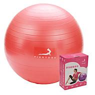 Fitnessball ( Rot/Blau/Purpur ) - PVC