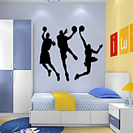 Wall Stickers Wall Decals, Style Play Basketball Water RemovalPVC Wall Stickers