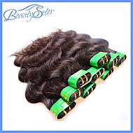 40Pcs 2Kg Lot Wholesale Cheap 5A Indian Virgin Human Hair Body Wave 100% Human Hair Extensions Color1B