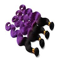 Ombre Βραζιλιάνικη Κυματομορφή Σώματος υφαίνει τα μαλλιά