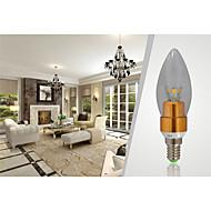 7W E14 Luzes de LED em Vela CA35 SMD 650-700 lm Branco Quente Decorativa AC 85-265 V 1 pç