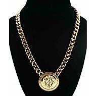 Women's Gold Color Lion Alloy Necklace