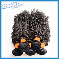 """10Pcs 1Kg Lot Wholesale Cheap Malaysian Virgin Hair Curly Style 10""""~28"""" 6A Unprocessed Human Hair Extensions Color1B"""
