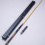 Cue Sticks & Acessórios Sinuca Inglês Bilhar Piscina Três quartas-de duas peças Cue Madeira