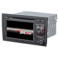 2 Din Car Dvd Player Car Stereo 6.2Inch Wince 6.0 For A4 With 1.2G CPU Gps Map Support Lossess Music 1080P