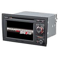 2 din 6.2inch estéreo carro dvd player carro estremecer 6.0 para a4 com o apoio 1,2g cpu gps mapa 1080p música lossess