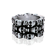 Men's Skeleton Titanium Ring