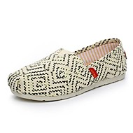 Women's Shoes Max Toms Canvas Flat Heel Round Toe Loafers Casual More Colors Available