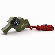 הישרדות Whistle חוץ Whistle / ריבוי פונקציות פלסטיק ירוק