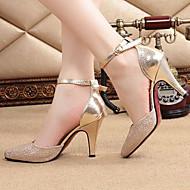 Women's Shoes  Stiletto Heel Heels Pumps/Heels Dress/Casual Blue/Gold