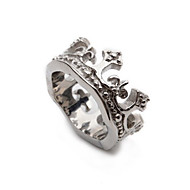 Silver Crown Stainless Steel Mens Ring Size 8 9 10 11 12 R322
