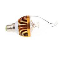 חלק 1 dingyao E14 15 W לד בכוח גבוה 450 LM לבן חם/לבן קר נורות נר AC 85-265 V