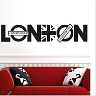 Wall Stickers Wall Decals, LONDON PVC Wall Stickers