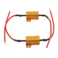 Car Universal LED Load Resistor Protector for LED lamp-25w 25ohm (2PCS)