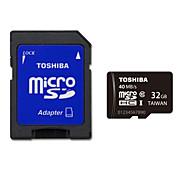 originele toshiba 32gb Class 10 microSDHC geheugenkaart UHS-i met sd adapter r: 40MB / s