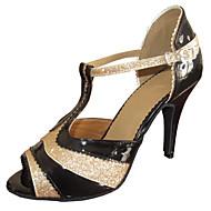 sandálias femininas customizadas salsa latin sapatos de dança