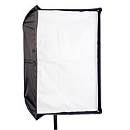 """80 x 120cm / 31 """"47"""" fotostudio paraplu rechthoek softbox voor tweeërlei gebruik voor Speedlight flitser"""