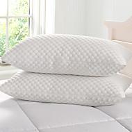 כרית למיטה , לבן 100% מיקרופייבר סינטטי