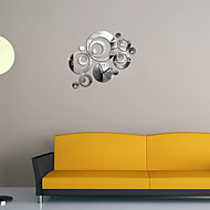Mirror Wall Stickers Wall Decals, Clock DIY Mirror Acrylic Wall Stickers