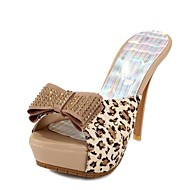 Women's Shoes Stiletto Heel Peep Toe Sandals with Bowknot Shoes Dress More Colors available