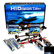 Super Vision Headlamps 4200LM 9-16V 20A 35W 9006 10000K High Brightness Xenon HID Conversion Kit