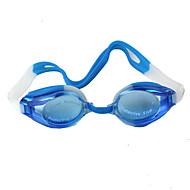 Óculos de Natação Unisexo Á Prova-de-Água / Tamanho Ajustável Plástico Plástico Azul Escuro Transparentes