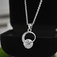Women New Jewelry CZ Pendants Necklaces